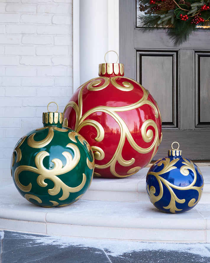 Quiet Corner:Outdoor Christmas Yard Decorating Ideas ...