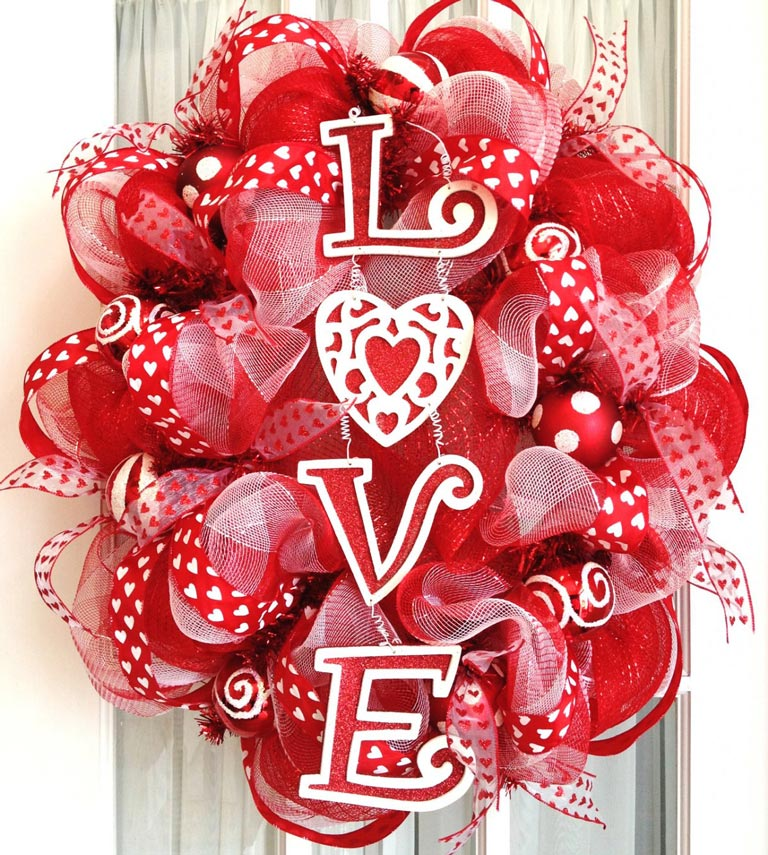 Amazing valentines day decorations ideas quiet corner for Decorate for valentines day