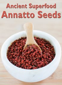 Ancient Superfood: Annatto Seeds