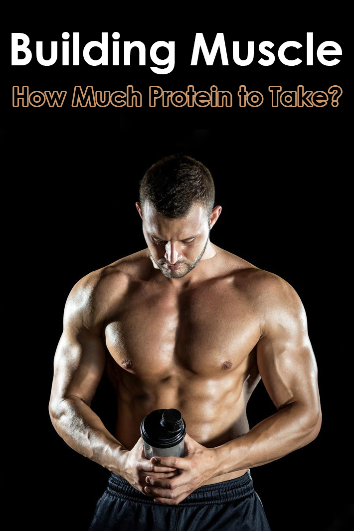 Building Muscle – How Much Protein to Take?