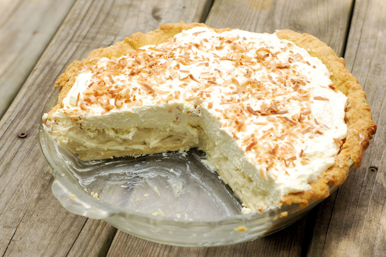 coconut cream pie recipe coconut cream pie is a classic this creamy ...