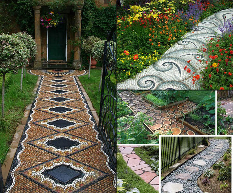 Garden Walkways Tips and Ideas