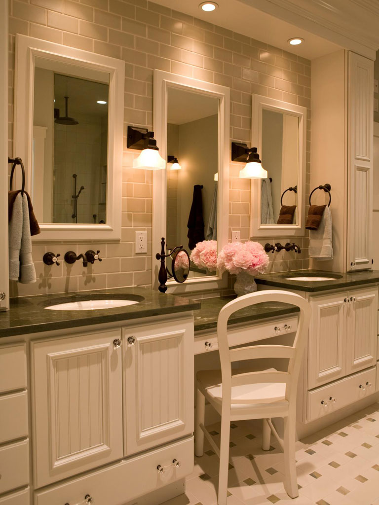 Great Ideas for Bathroom Double Sinks