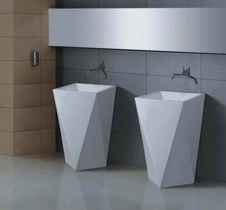 Great ideas for bathroom double sinks quiet corner for Bathroom ideas double sink