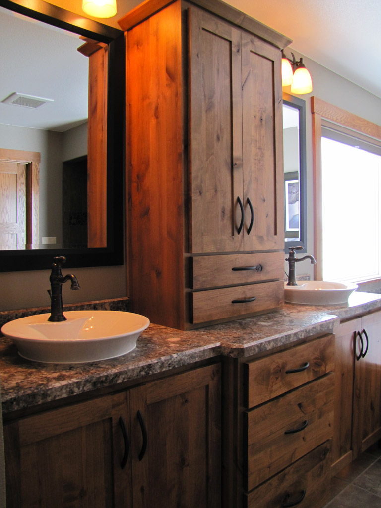 Great ideas for bathroom double sinks quiet corner for Great bathroom designs