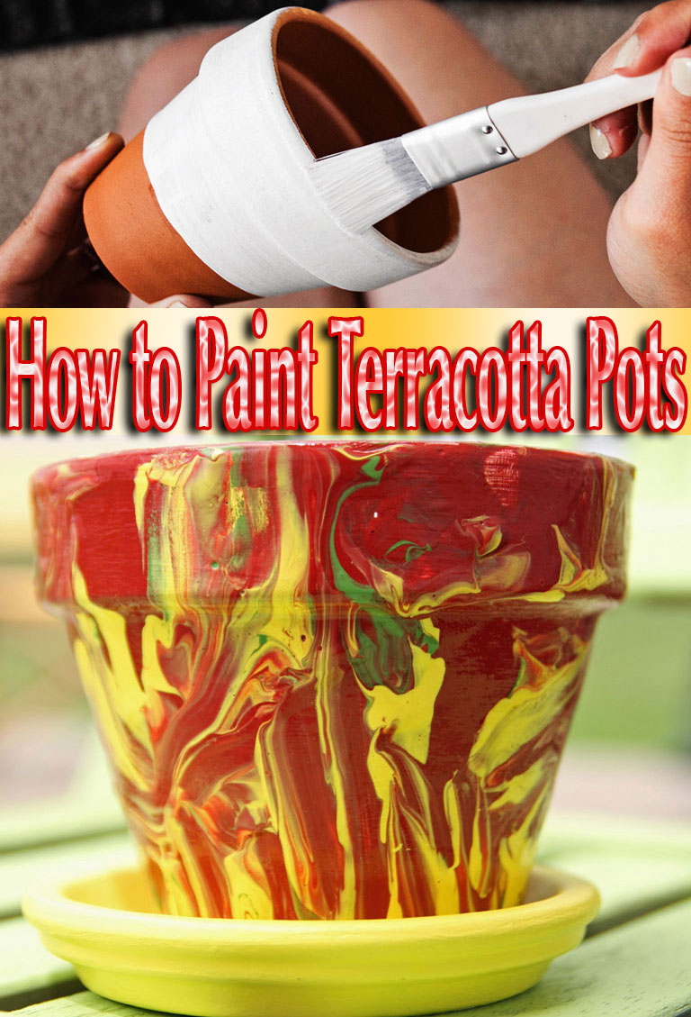 How to Paint Terracotta Pots