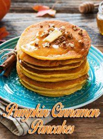 Pumpkin Cinnamon Pancakes