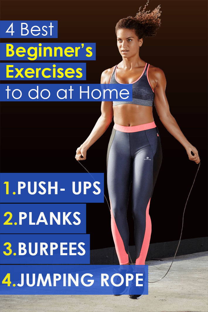 The 4 Best Beginner's Exercises to do at Home - Quiet Corner