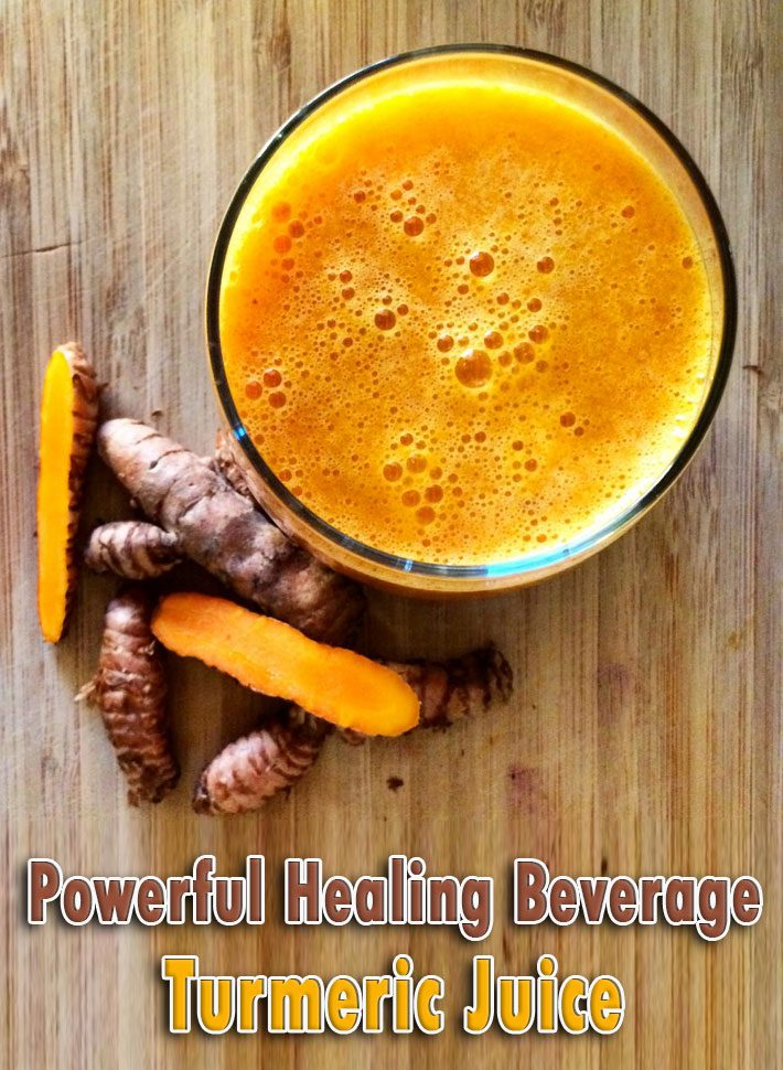 A Powerful Healing Beverage Turmeric Juice