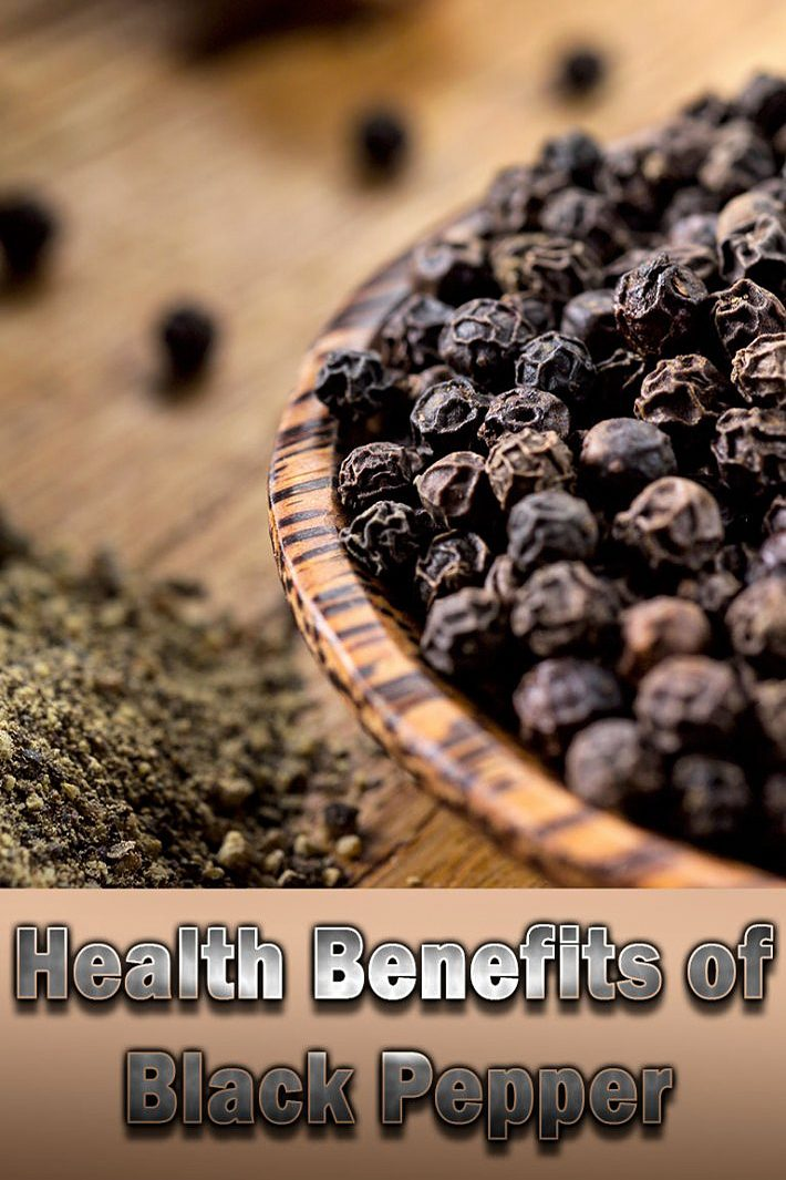 Black Pepper – Health Benefits
