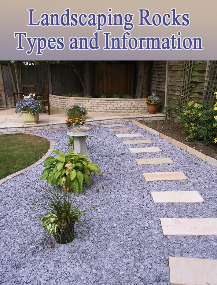 Landscaping Rocks – Types and Information