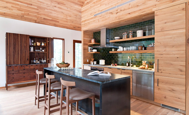 Hudson Woods Retreat by Lang Architecture