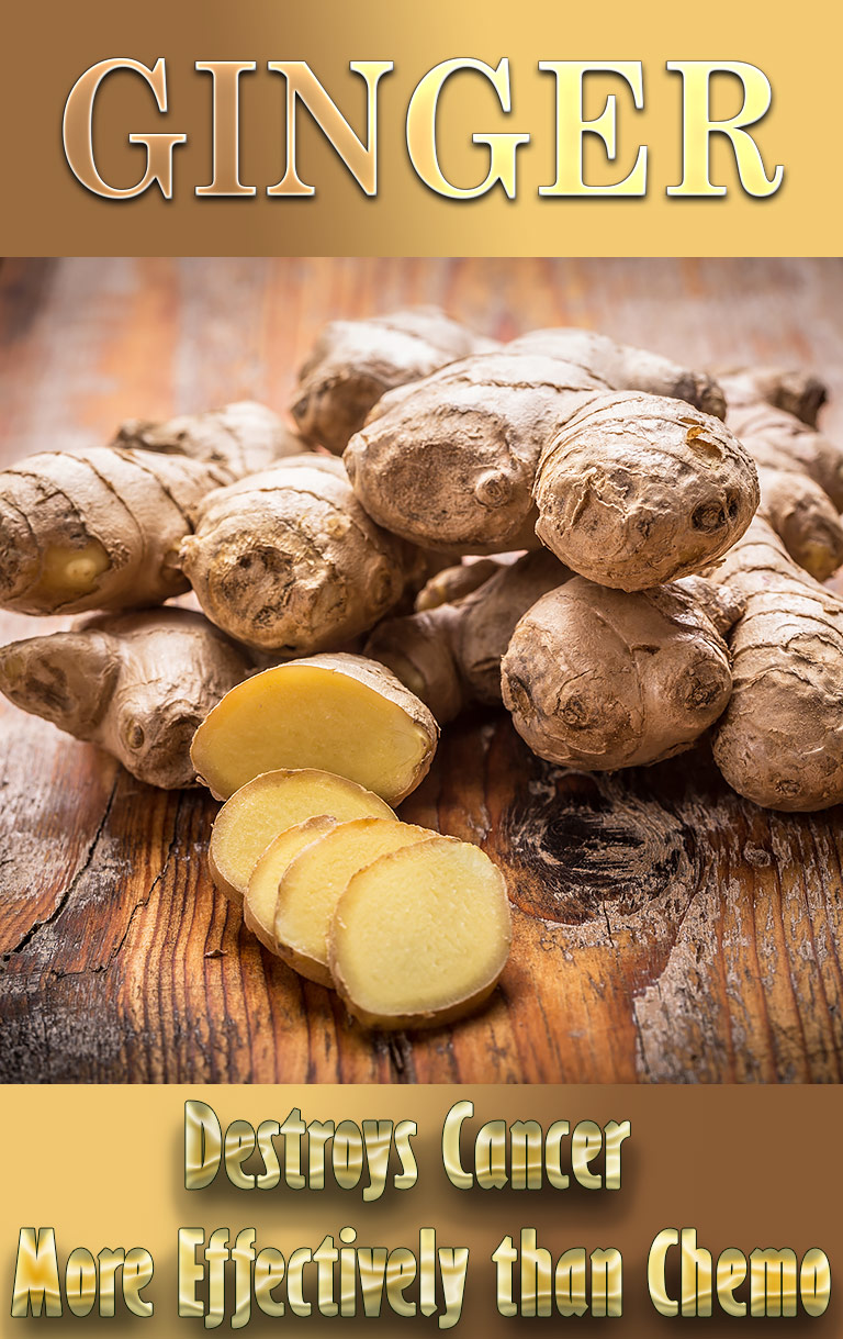 How Ginger Destroys Cancer More Effectively than Chemo