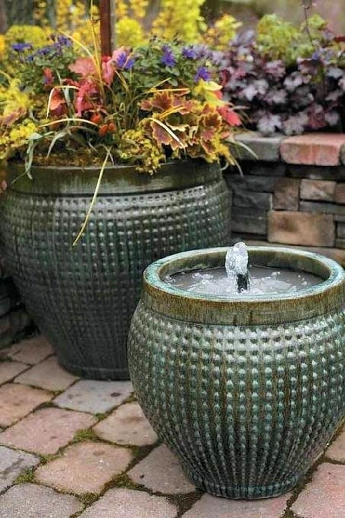 DIY - Fountain in a Pot - Quiet Corner