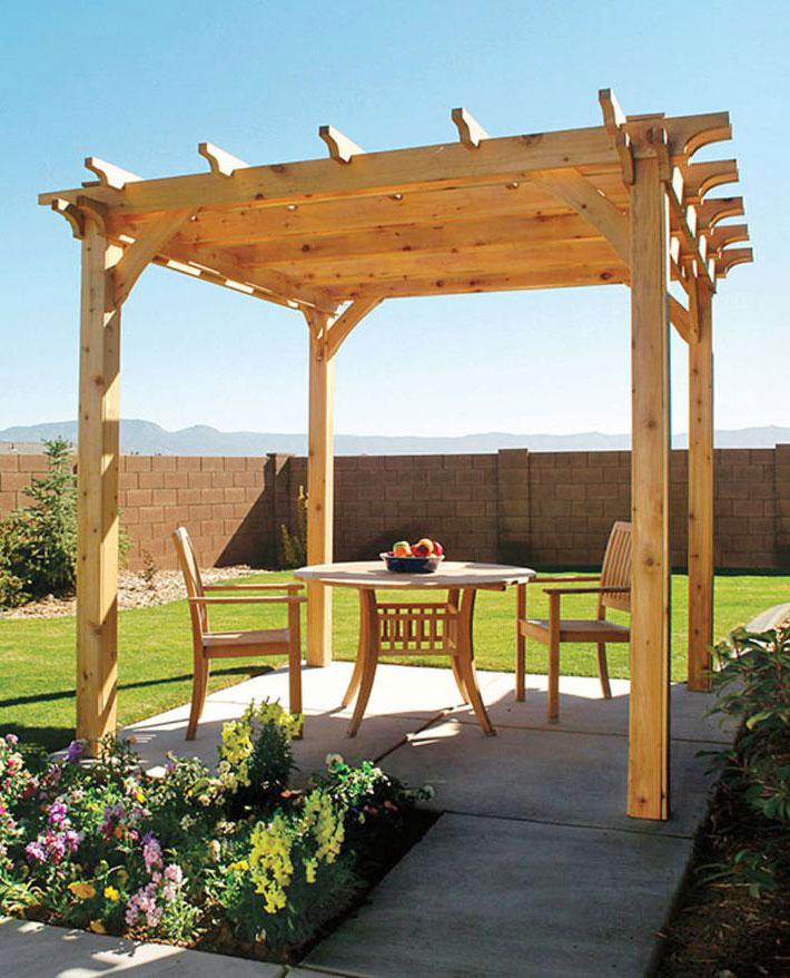 DIY - How to Build a Pergola - Quiet Corner
