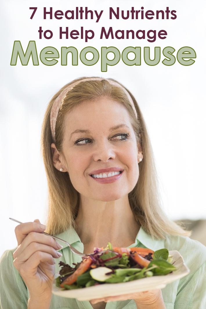 7 Healthy Nutrients to Help Manage Menopause - Quiet Corner