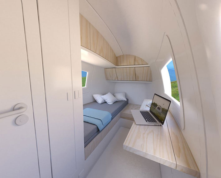 Ecocapsule - Tiny Eco-Friendly Off The Grid Home