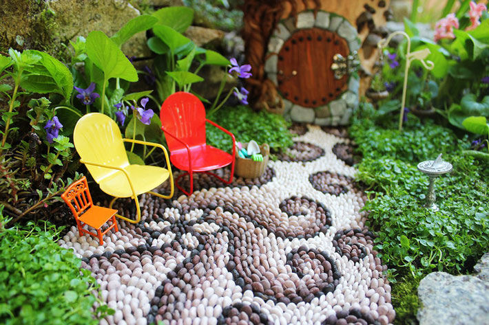 Fairy Garden in Container - Amazing Ideas