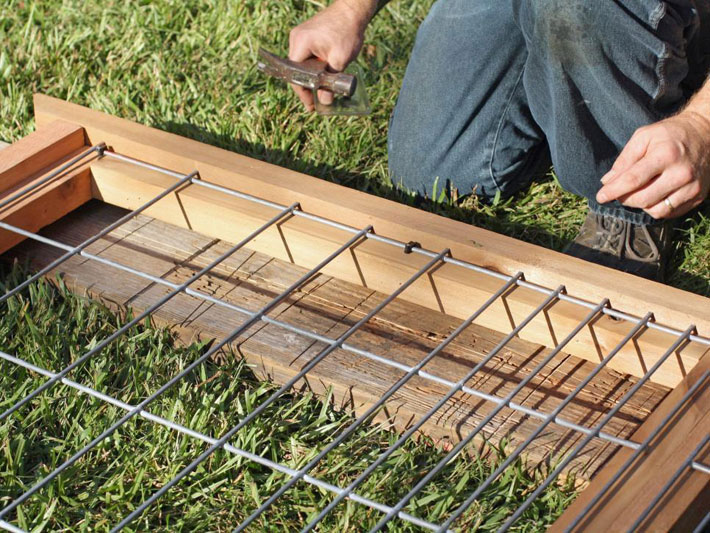 Diy Tutorial Build A Raised Bed and Trellis