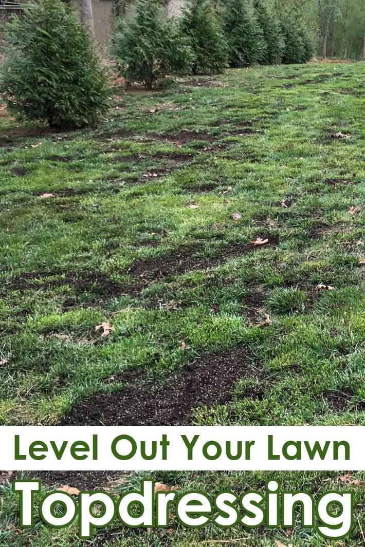 f95fc51247 Quiet Corner:Topdressing - Level Out Your Lawn - Quiet Corner
