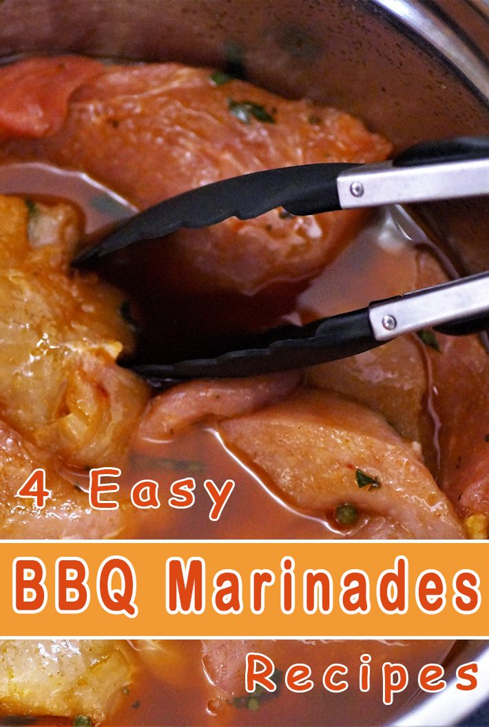 4 Easy BBQ Marinades Recipes