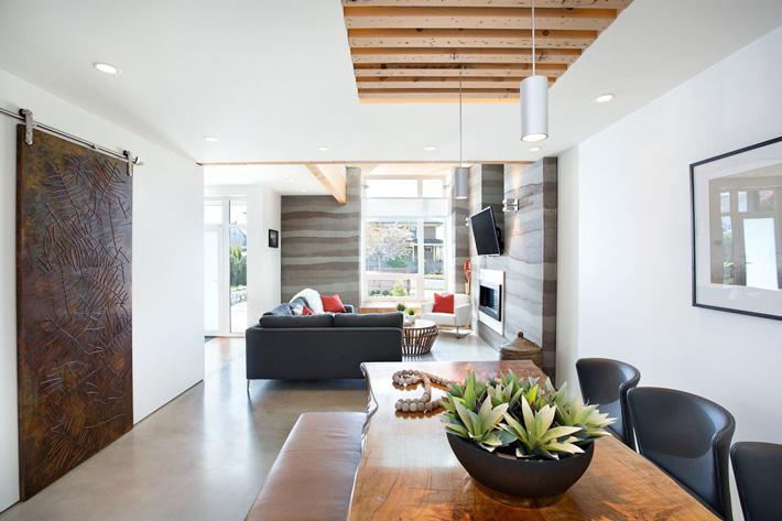 Energy-Efficient Contemporary Home