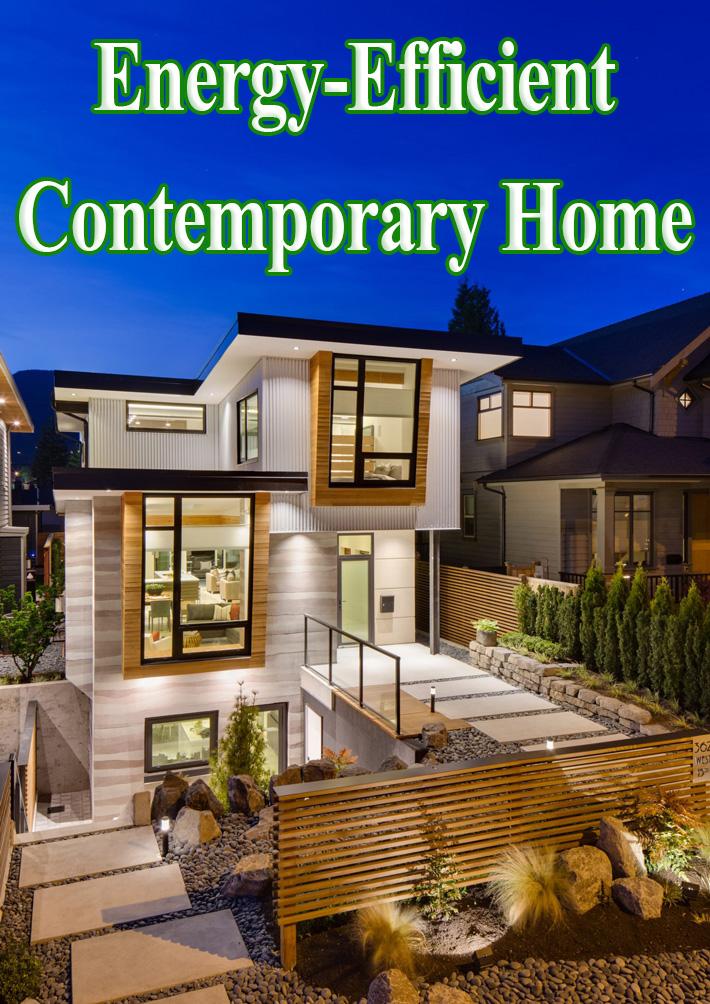 Energy-Efficient Contemporary Home - Quiet Corner