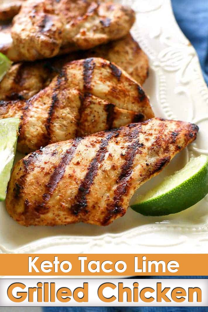 Keto Lime Grilled Chicken