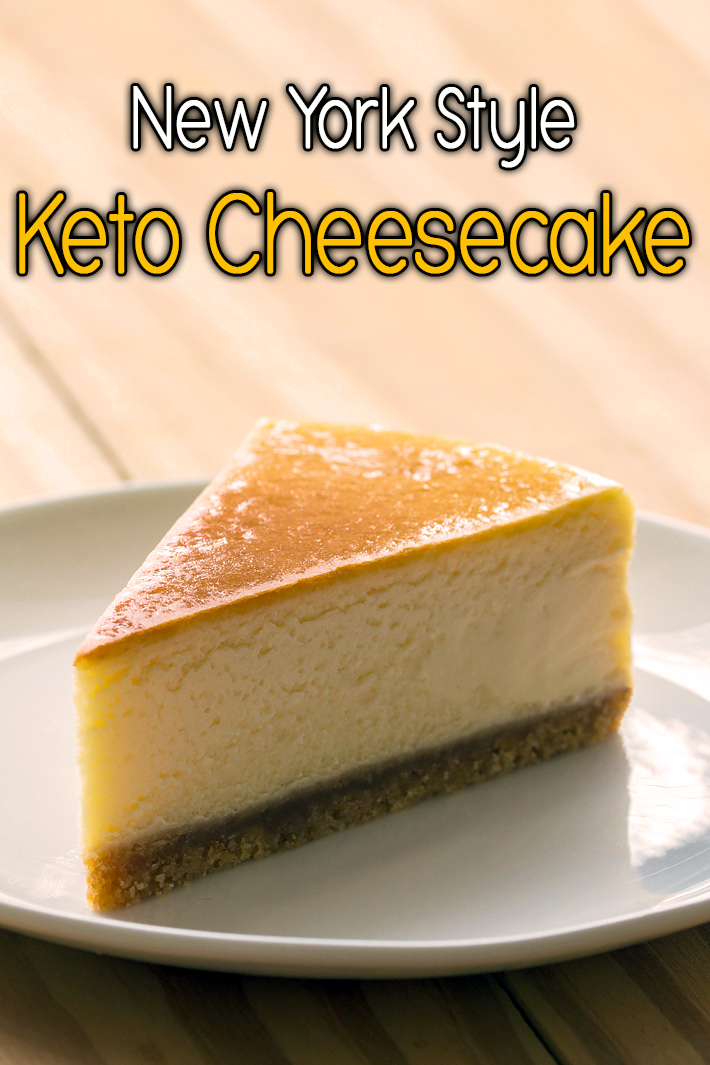 New York Style Keto Cheesecake - Quiet Corner