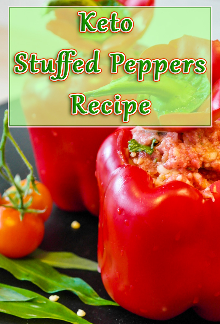 Keto Stuffed Peppers Recipe - Quiet Corner