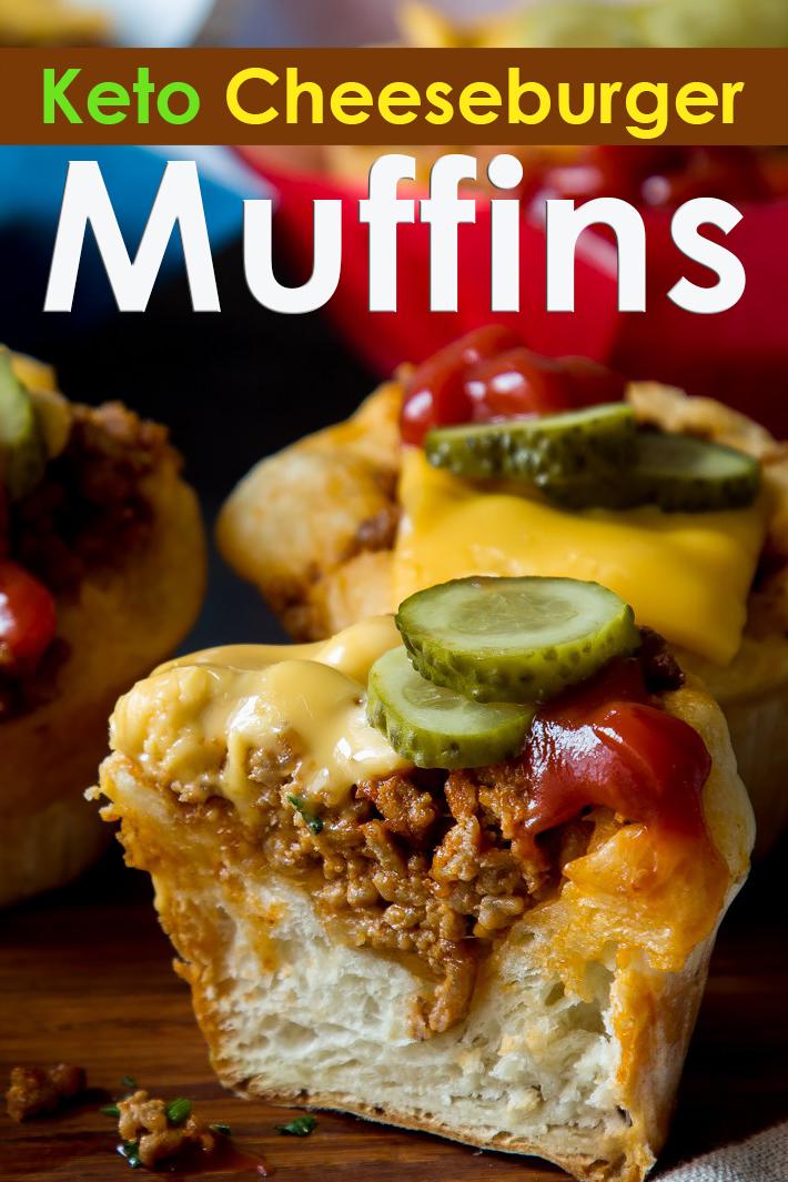 Keto Cheeseburger Muffins - Quiet Corner
