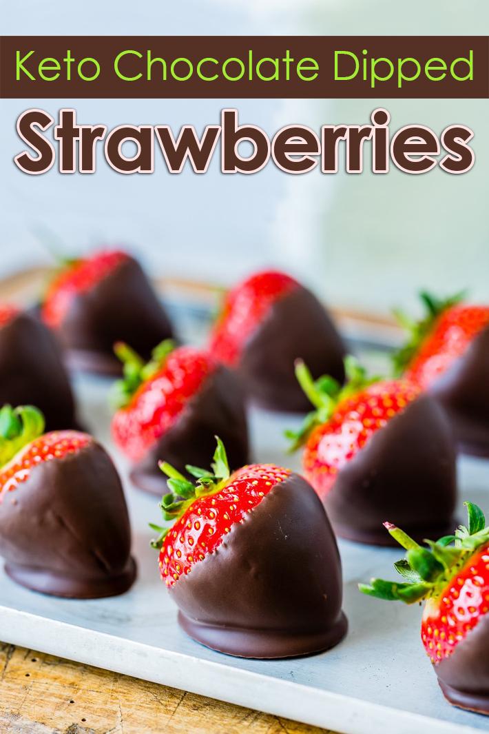 Keto Chocolate Dipped Strawberries - Quiet Corner
