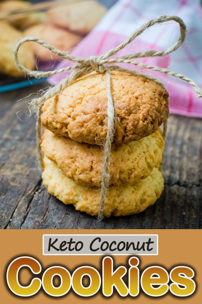 Keto Coconut Cookies