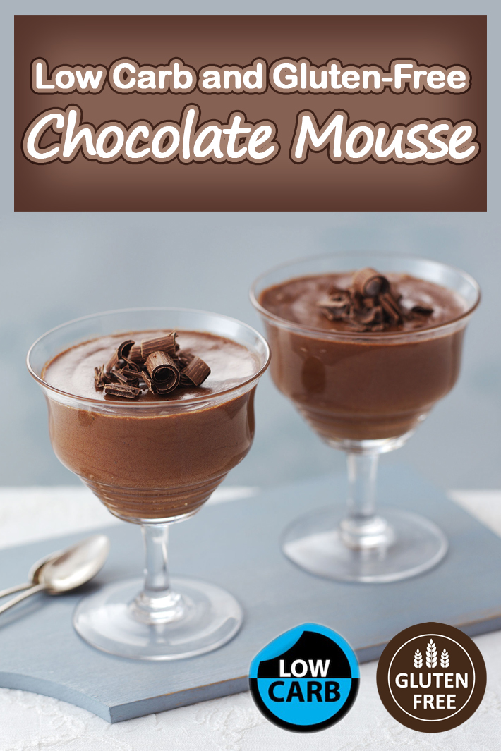 Low Carb and Gluten-Free Chocolate Mousse - Quiet Corner