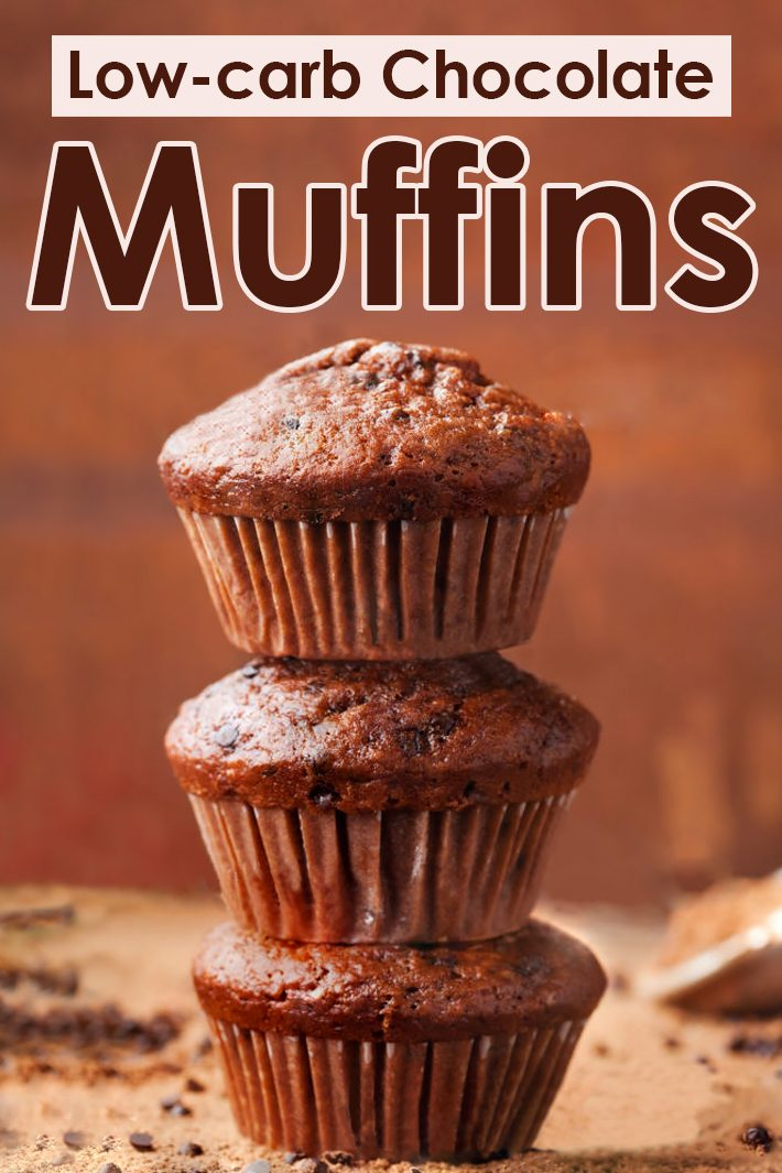 Low-carb Chocolate Muffins