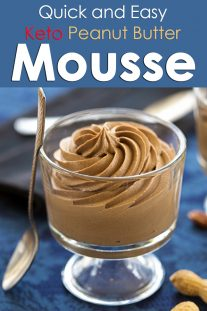 Quick and Easy Peanut Butter Mousse