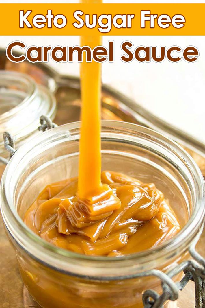 Keto Sugar Free Caramel Sauce