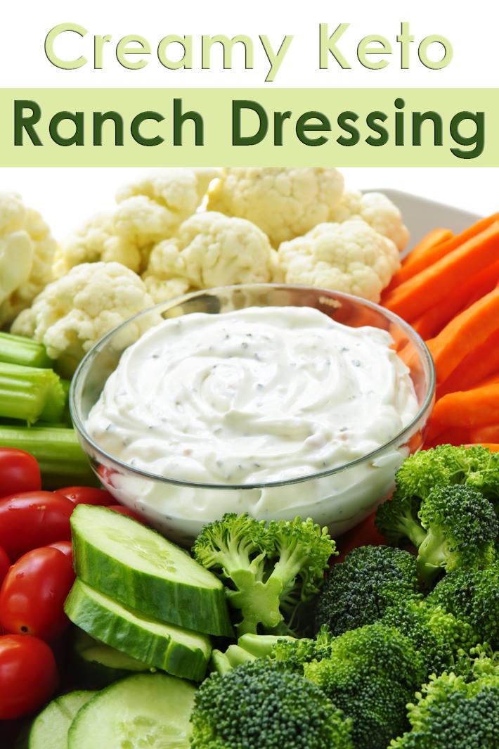 Creamy Keto Ranch Dressing - Quiet Corner