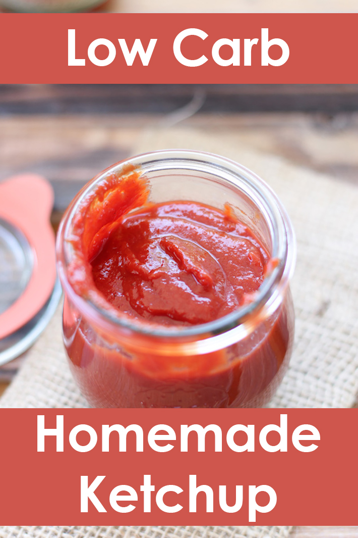 Homemade Low Carb Ketchup - Quiet Corner