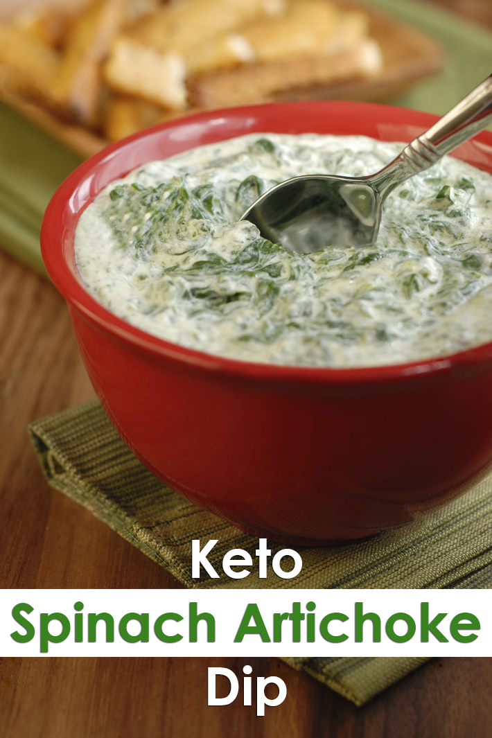 Keto Spinach Artichoke Dip - Quiet Corner