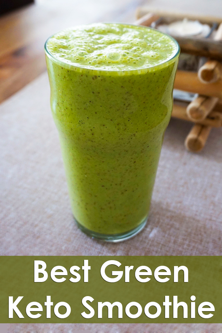 Best Green Keto Smoothie - Quiet Corner