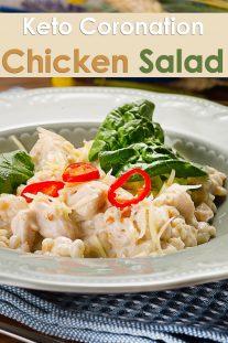 Keto Coronation Chicken Salad