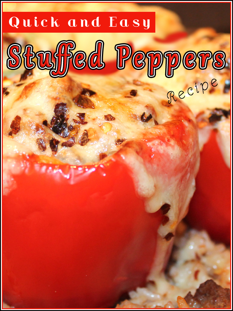 Quick and Easy Stuffed Peppers - Quiet Corner
